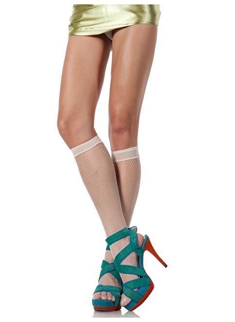 Pierre Cardin 3'Lü File Dizaltı Çorap Beyaz